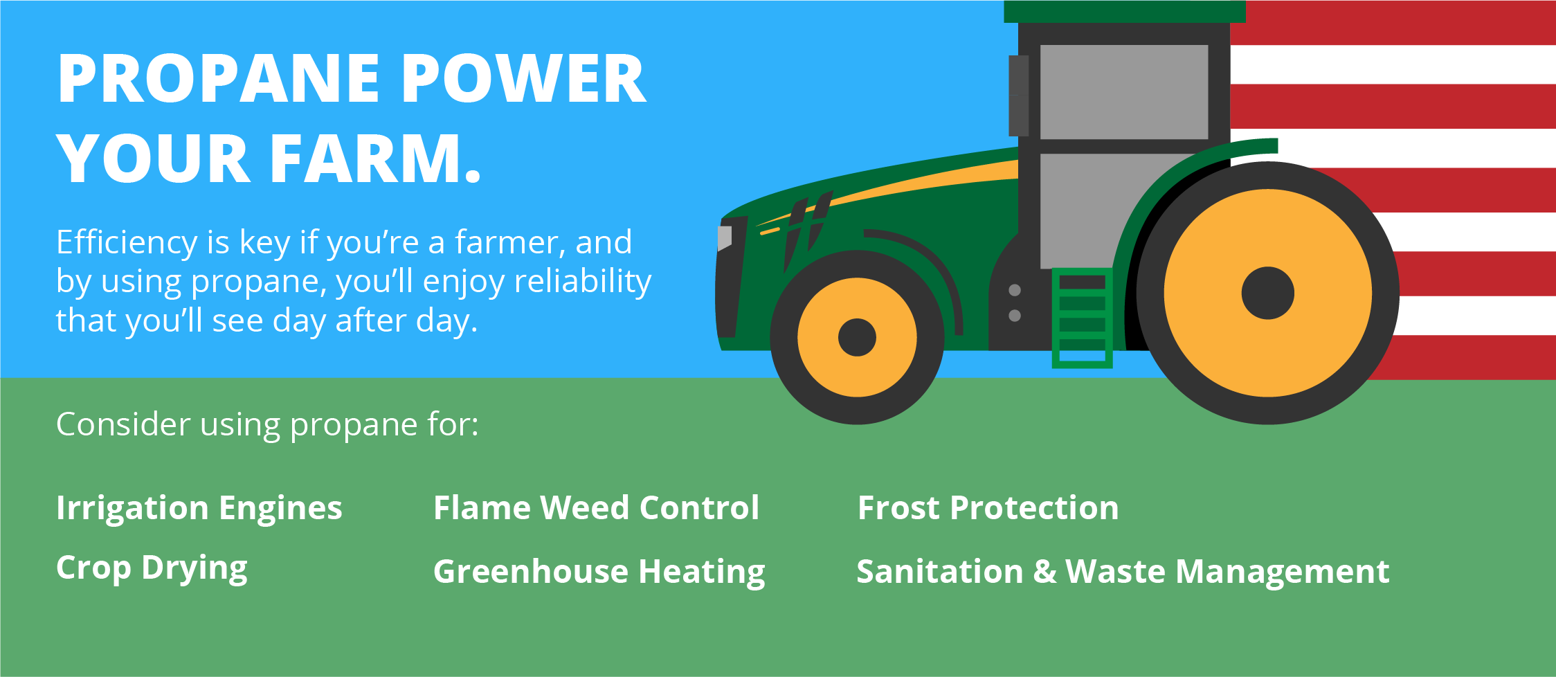 Propane Power Your Farm